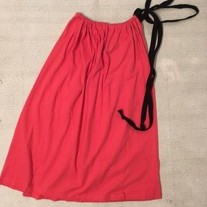 American Apparel Dresses - Coral American Apparel Le Sac Multi way dress